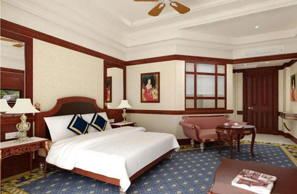 Khách sạn The Imperial Vũng Tàu nội thất phòng ngủ