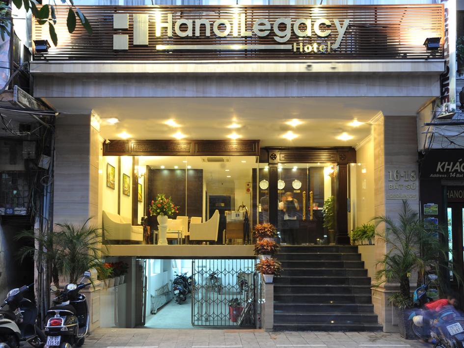 Khách sạn Legacy tiết kiệm 70% điện năng khi sử dụng máy nước nóng bơm nhiệt Greenheat
