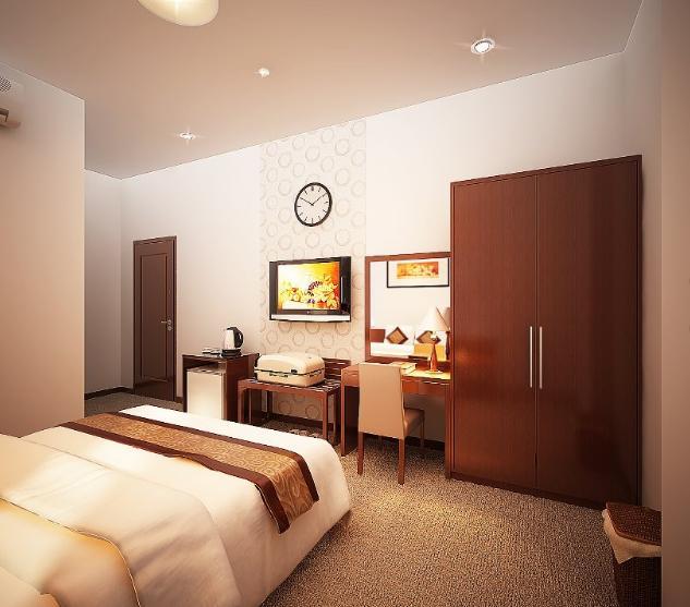 Loại II (3 giường đơn hoặc 1 giường đôi + 1 giường đơn)